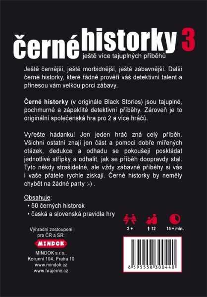Rodinné karetní hry - Černé historky 3