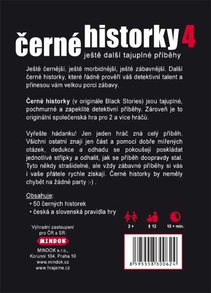 Rodinné karetní hry - Černé historky 4