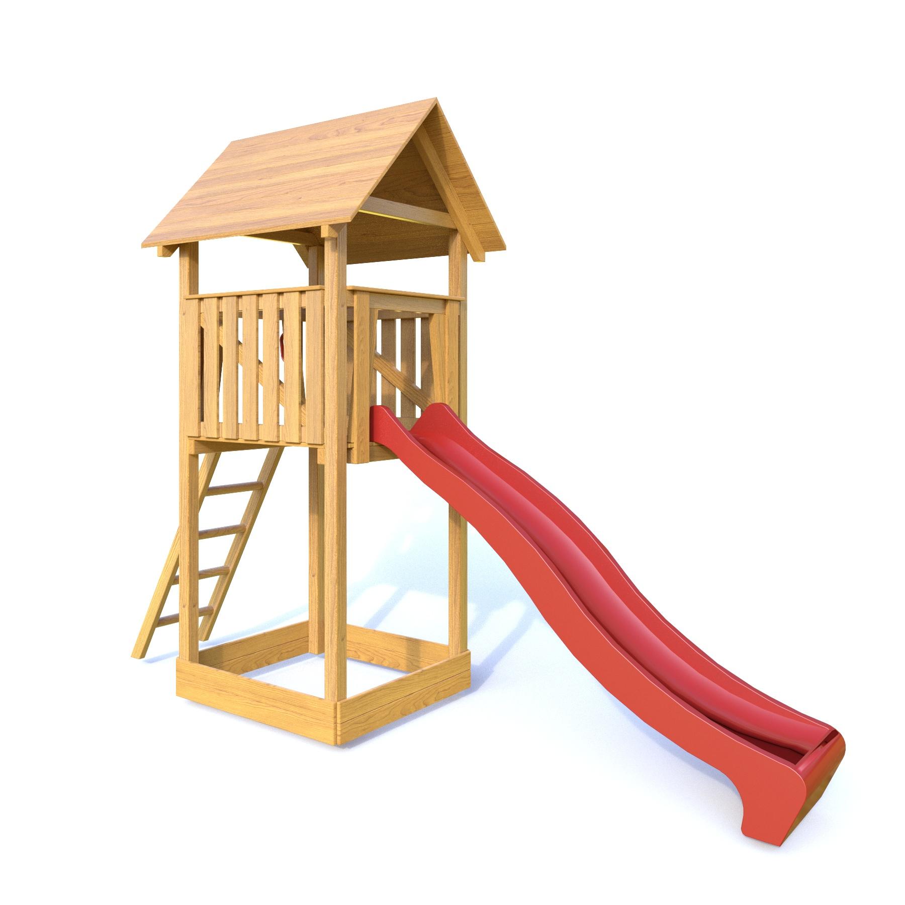 Dřevěné dětské hřiště - Stavebnice hřiště Lucinka