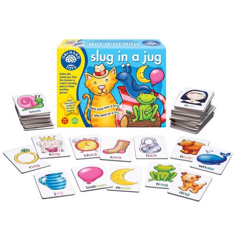 Orchard Toys Slimák ve džbánku