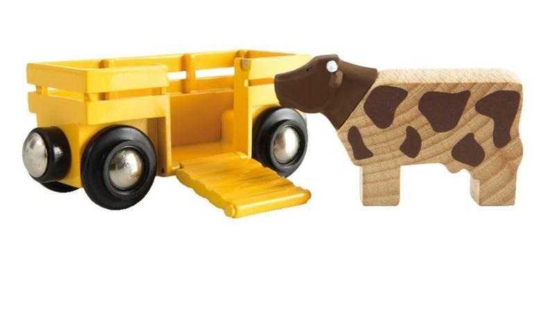 Příslušenství vláčkodráhy - Vagón s kravičkou