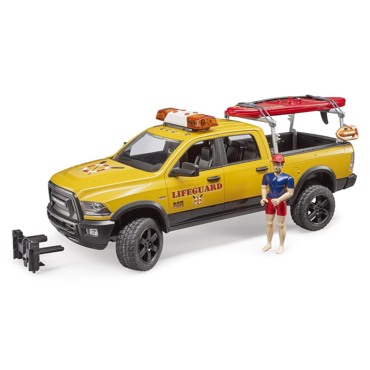 Bruder Dodge RAM pobřežní hlídky se záchranářem a příslušenstvím