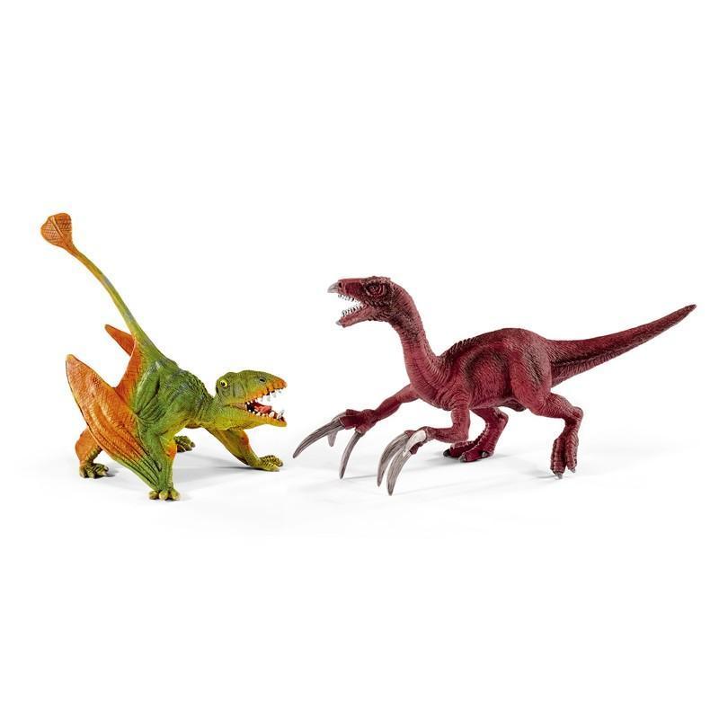 Schleich - Prehistorická sada Dimorphodon a Therizinosaurus malí