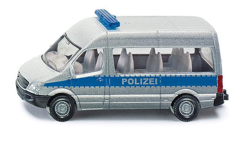 Kovový model auta - SIKU Blister - Policejní mikrobus