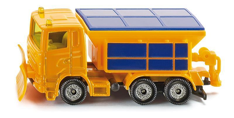 Siku Kovový model auta zimní úklidové vozidlo