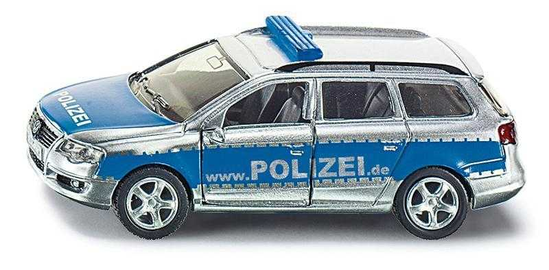 Kovový model auta - SIKU Blister - Hlídkový vůz VW Passat