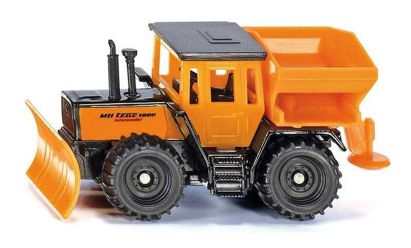 Kovový model - SIKU Blister - zimní úklidové vozidlo