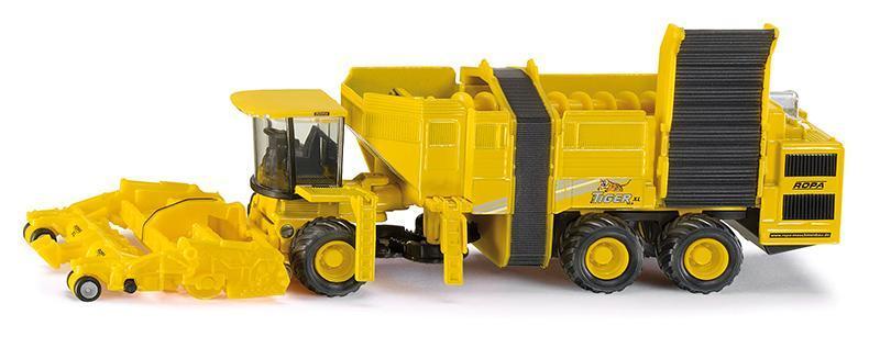 Kovový model - SIKU Farmer - Harvester na cukrovou řepu 1:87