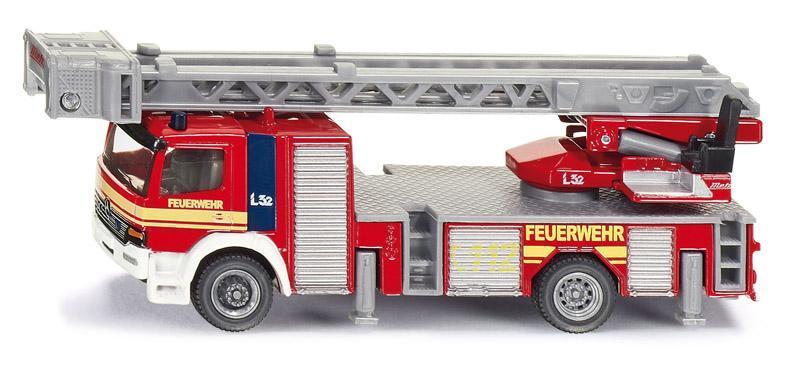 Kovový model auta - SIKU Super - Otočný požární žebřík