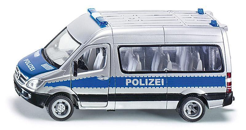 Kovový model auta - SIKU Super - Policejní minibus Mercedes,