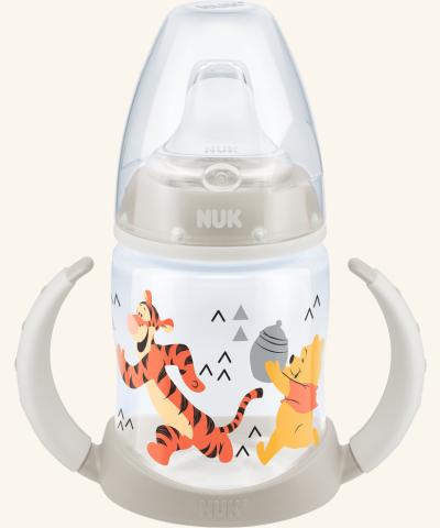 NUK First Choice lahvička na učení 150 ml béžová