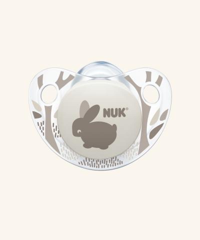 NUK Dudlík Trendline Adore V1,LA (0-6 měs.) růžová