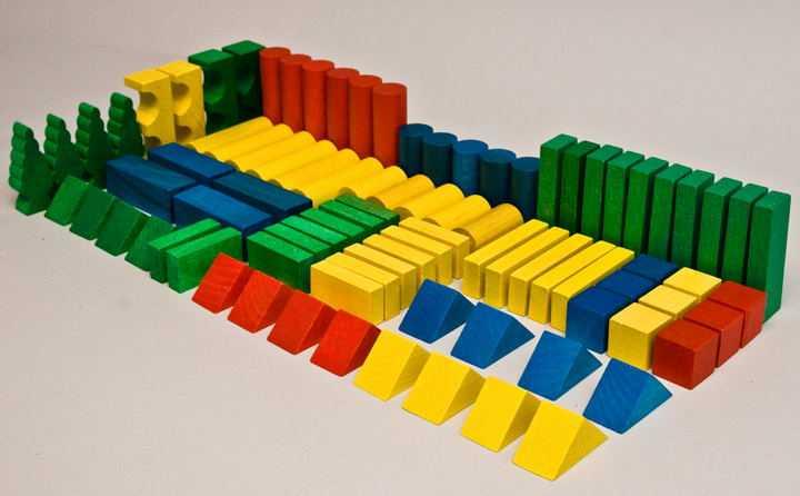 Dřevěné kostky v tubě - Dřevěné kostky 180