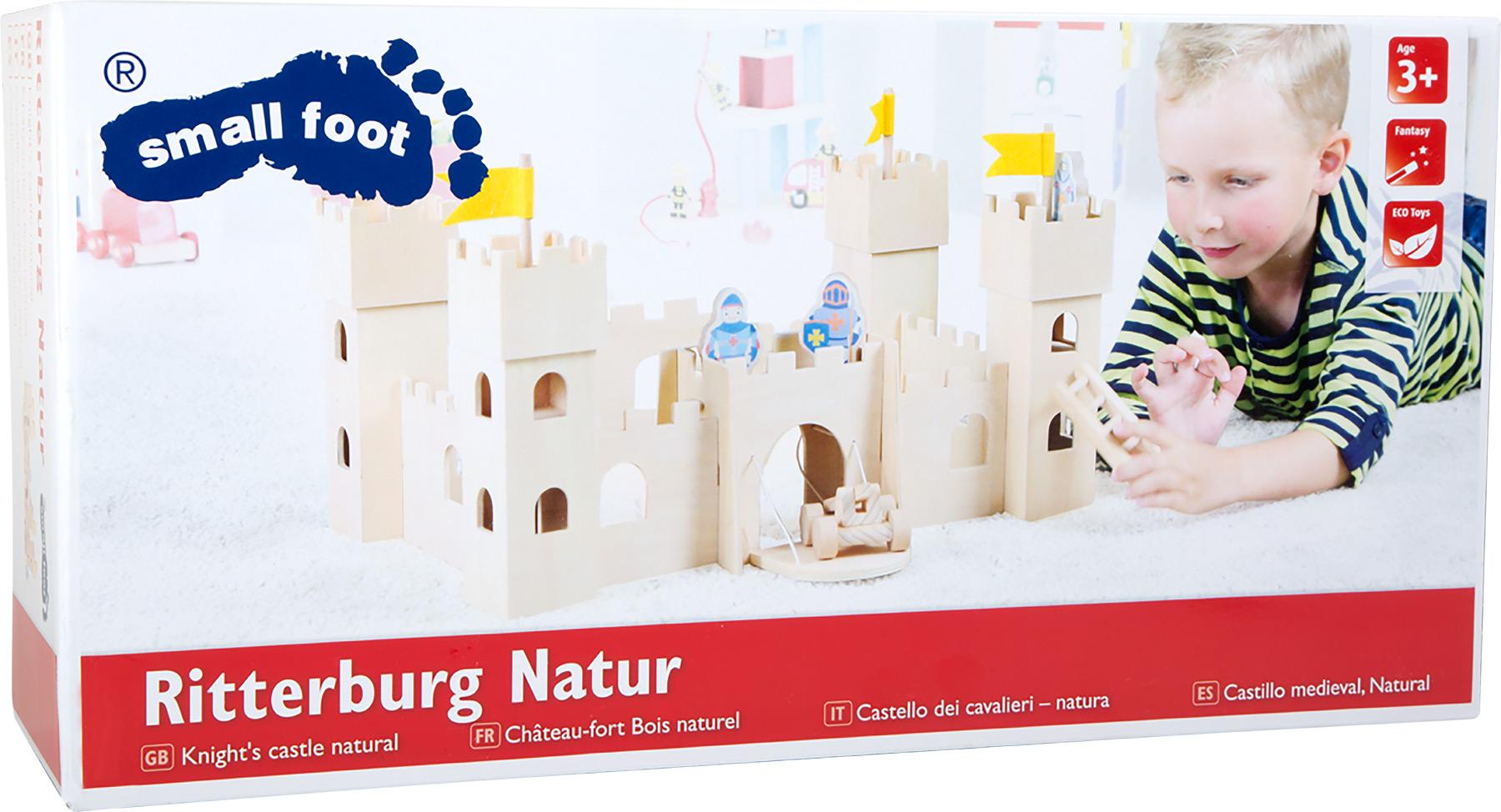 Small Foot Dřevěný rytířský hrad Natur