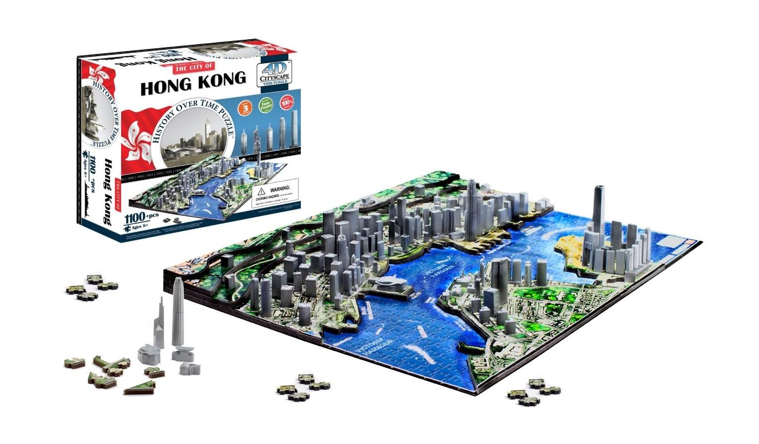 Puzzle 4D City Hong Kong
