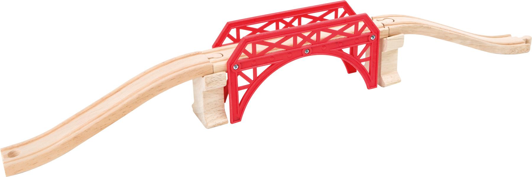 Small Foot Dřevěný červený most