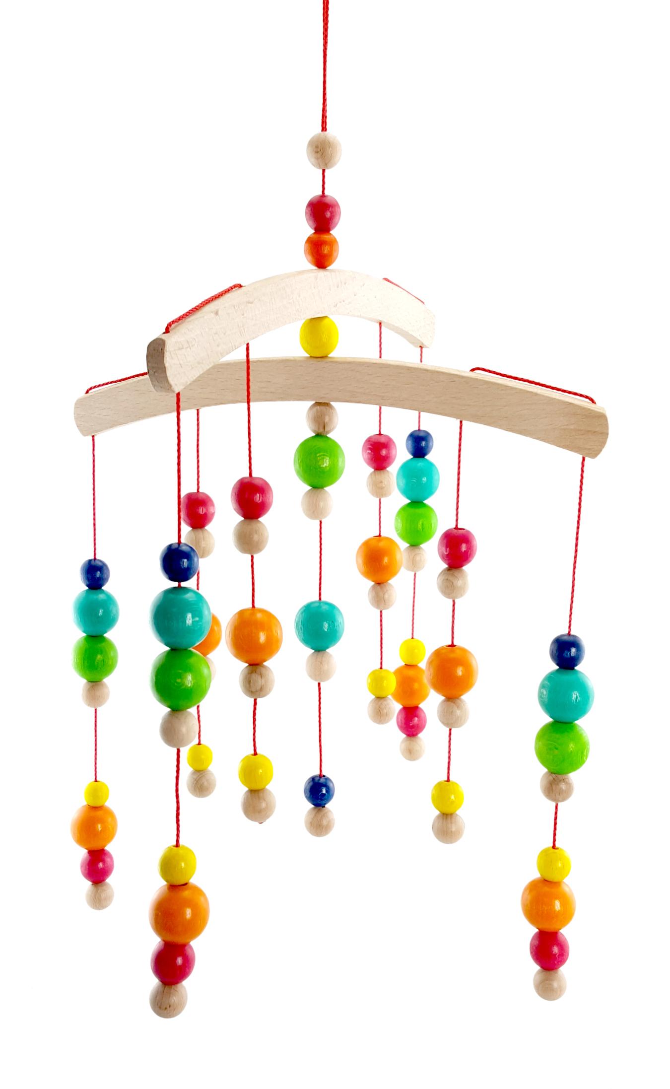 Hess Závěsný kolotoč kuličky barevné