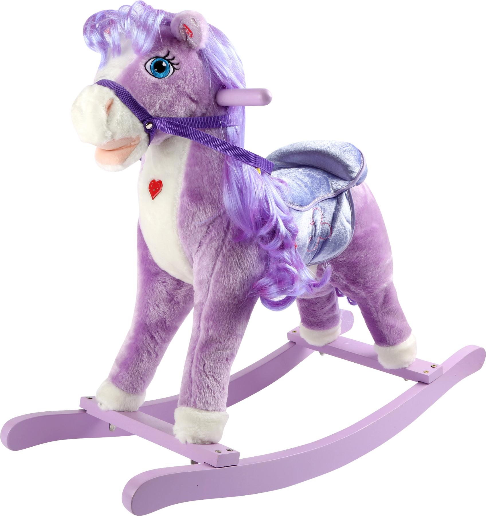 Small Foot Houpací kůň purple pony