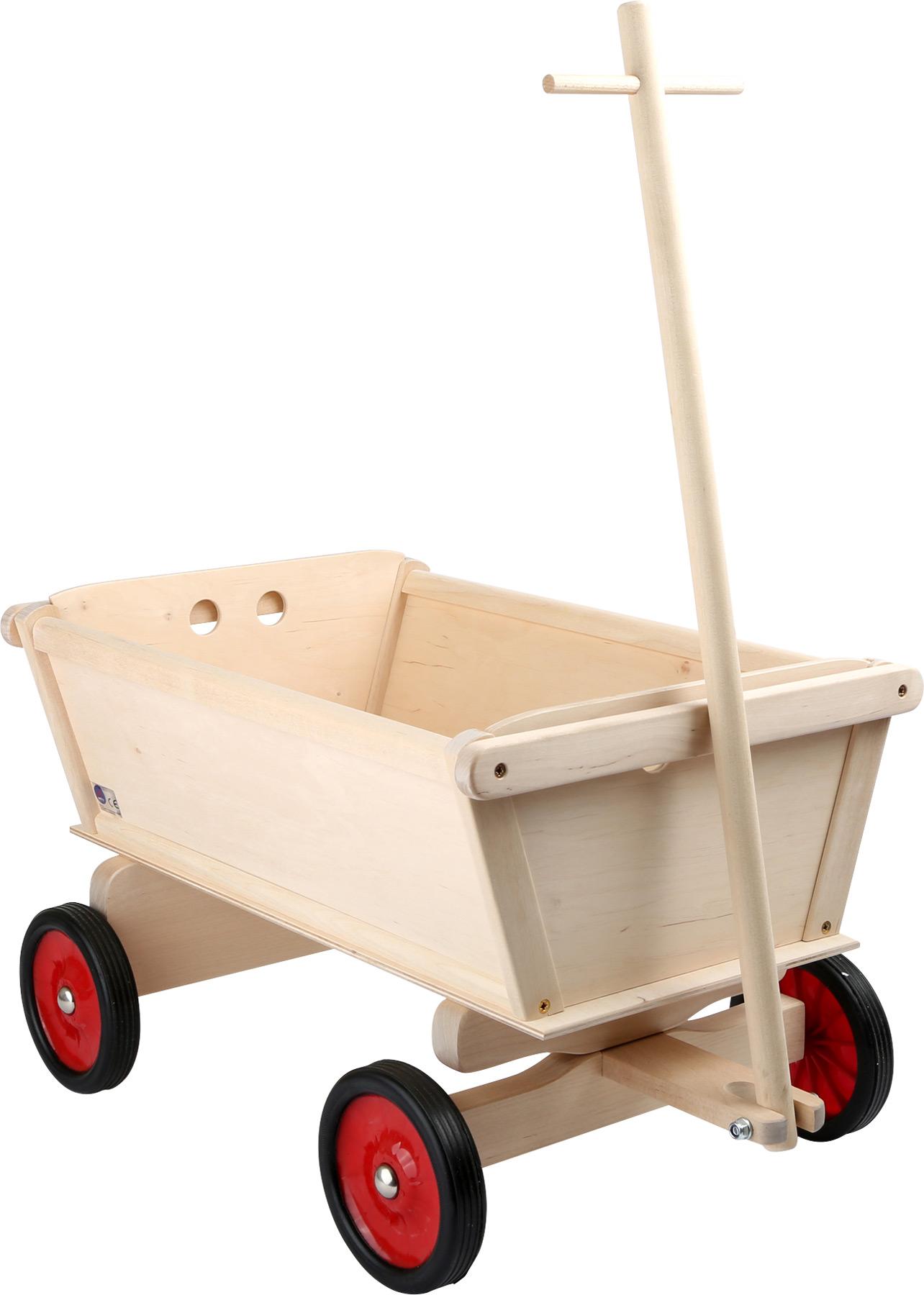 Small Foot Dřevěný tahací vozík pro děti