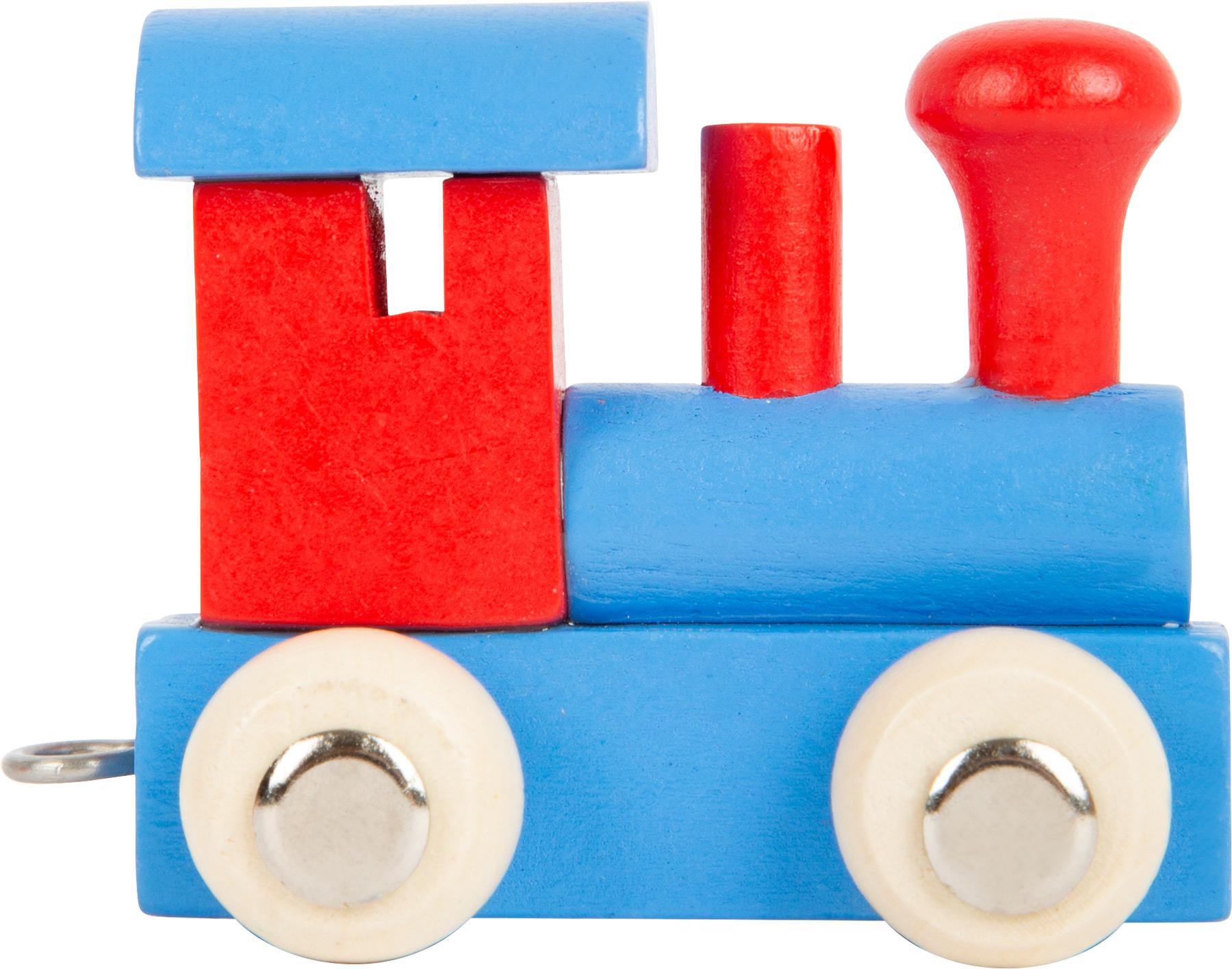 Small Foot Lokomotiva barevná