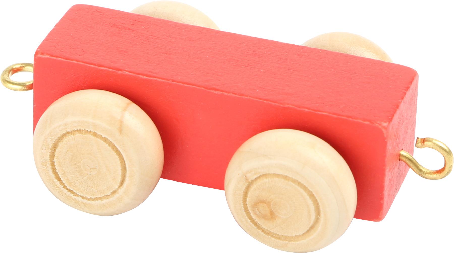 Small Foot Vagónek plochý barevný