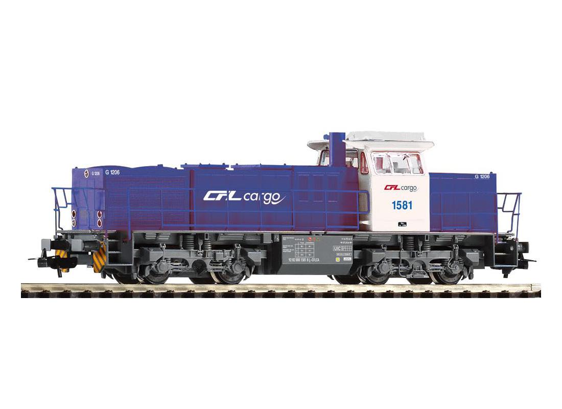 Piko Dieselová lokomotiva G 1206 CFL Cargo modrá IV - 59494