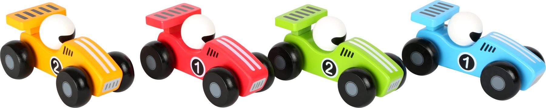 Small Foot Dřevěné závodní autíčko 1 ks