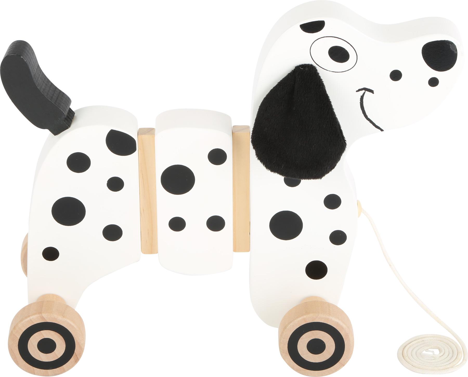 Small Foot Dřevěný tahací dalmatin