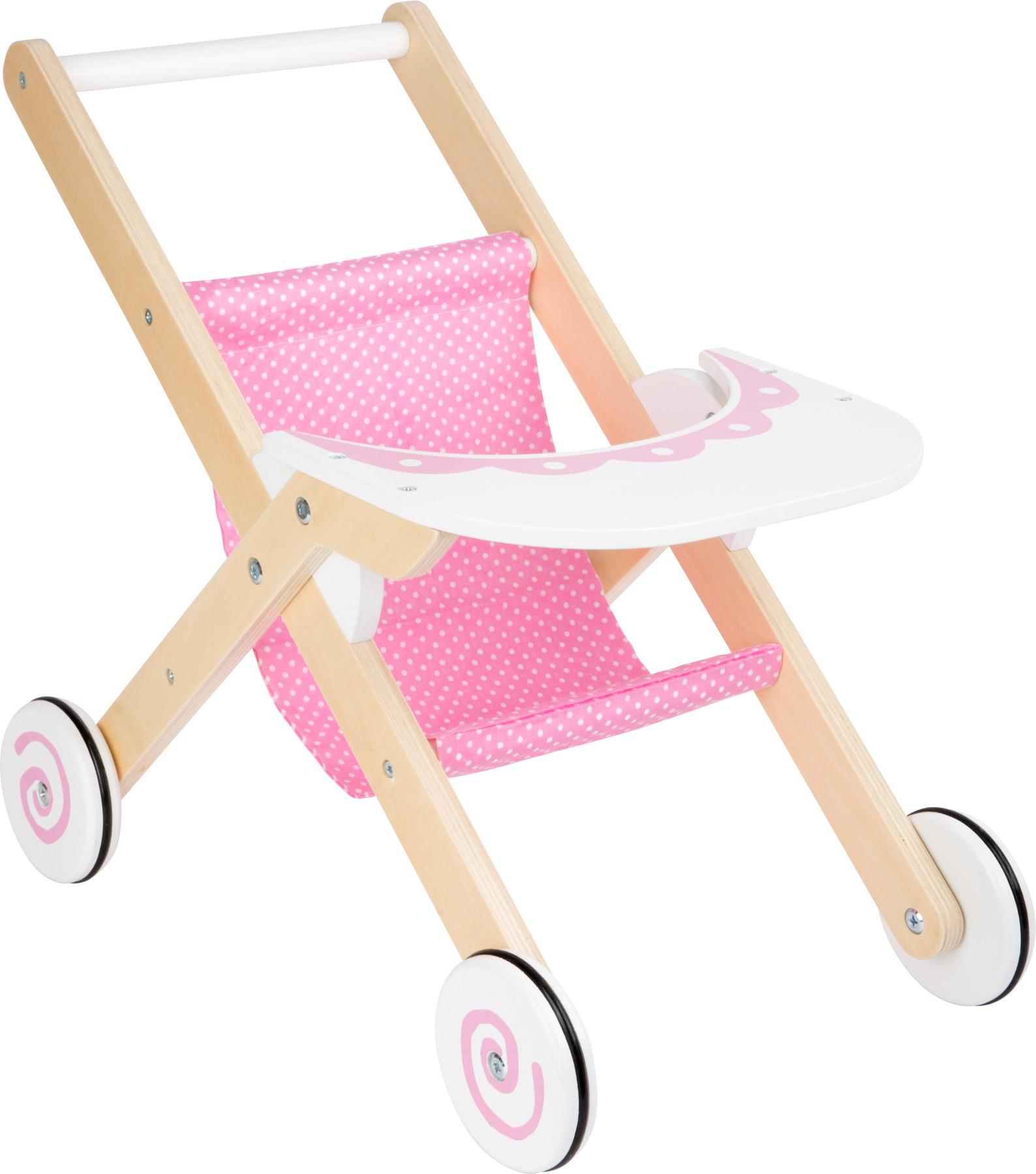 Small Foot Dřevěný sportovní kočárek pro panenku dream