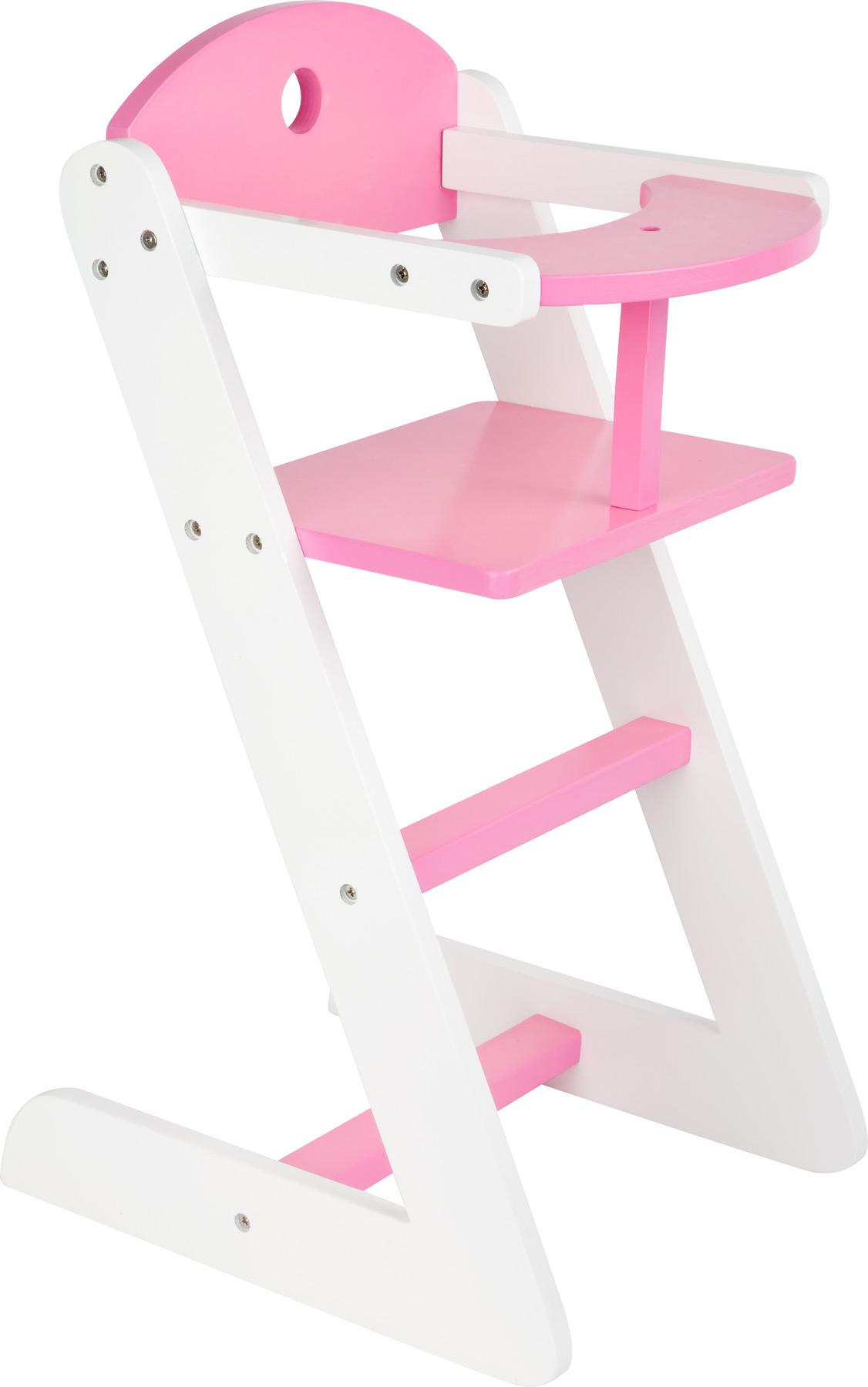 Small Foot Dřevěná jídelní židlička pro panenku dream