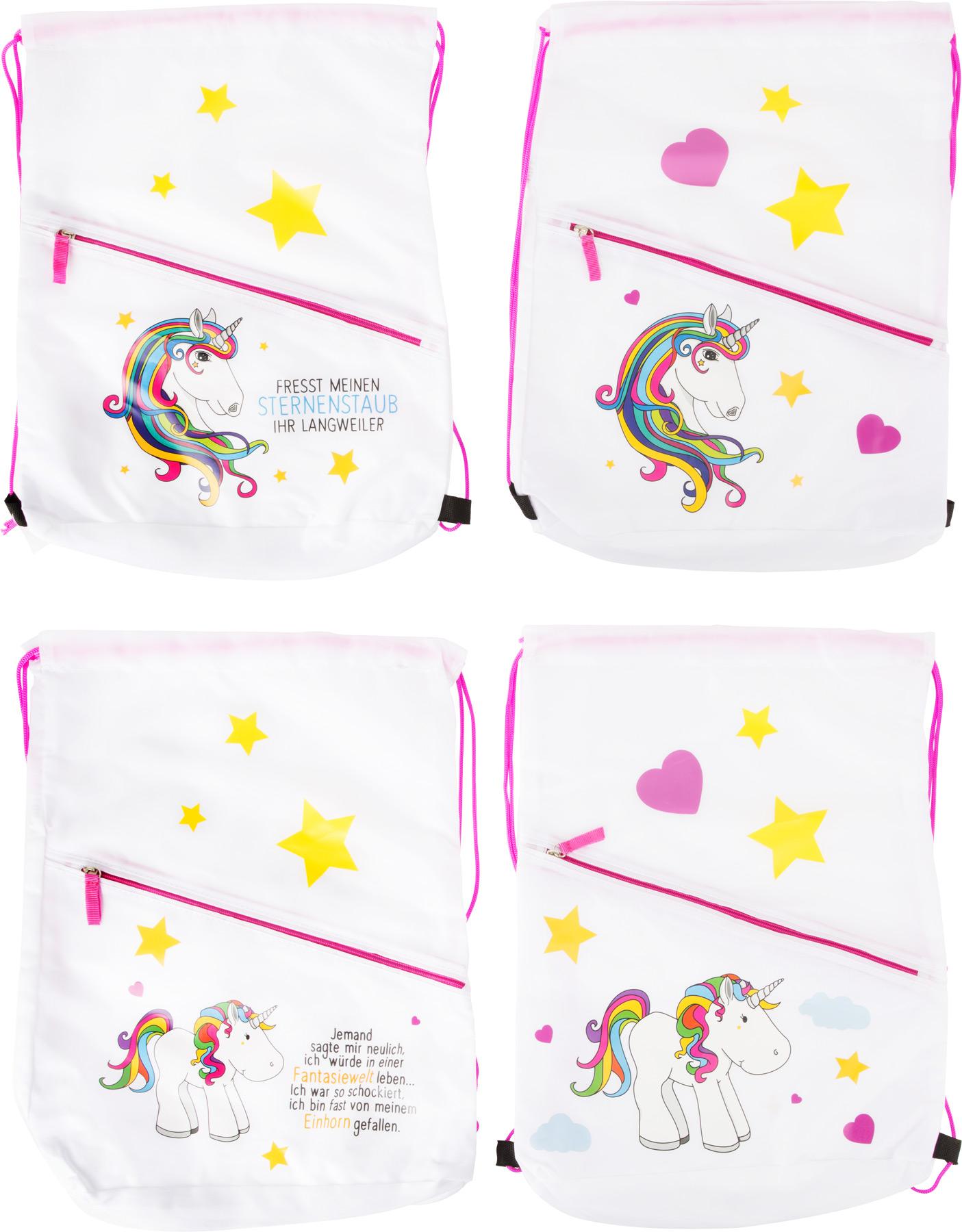 Sportovní taška přes rameno Unicorn 4 ks
