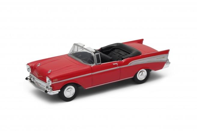 Welly - Chevrolet Bel Air ('57)1:34 modré