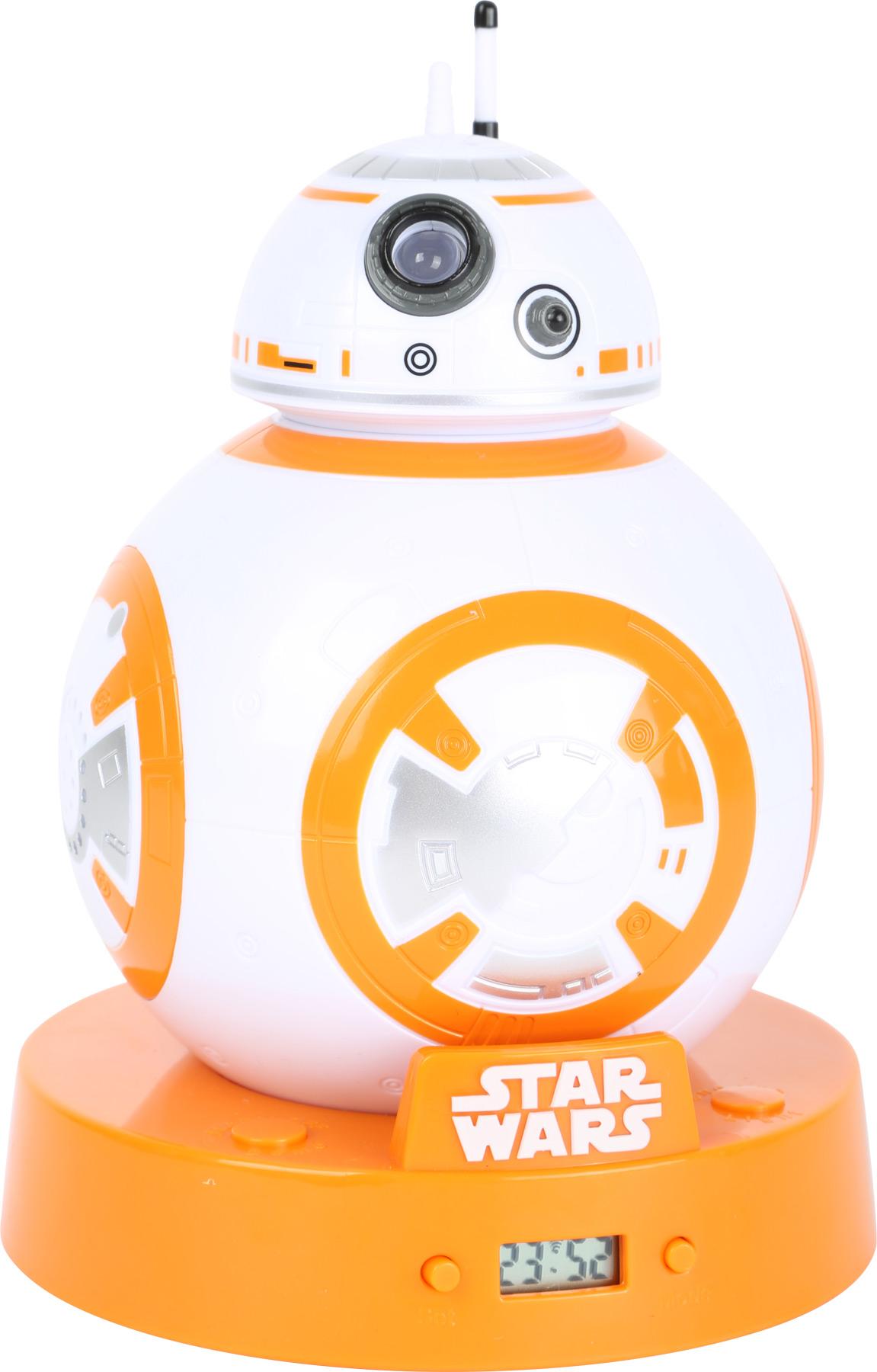 Small Foot Budík s projektorem Star Wars BB-8