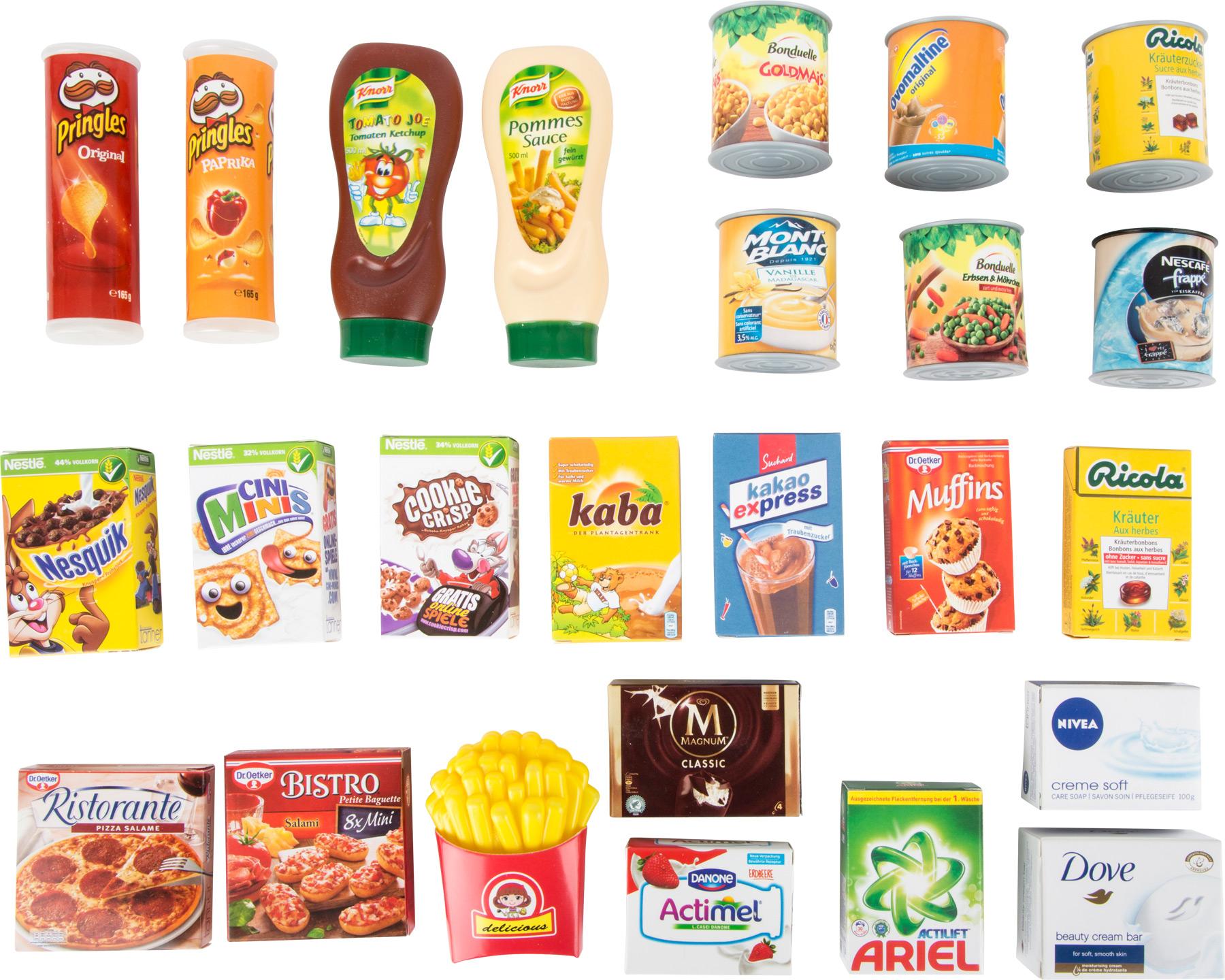 Fotografie Small Foot Sada moderních potravin a drogerie