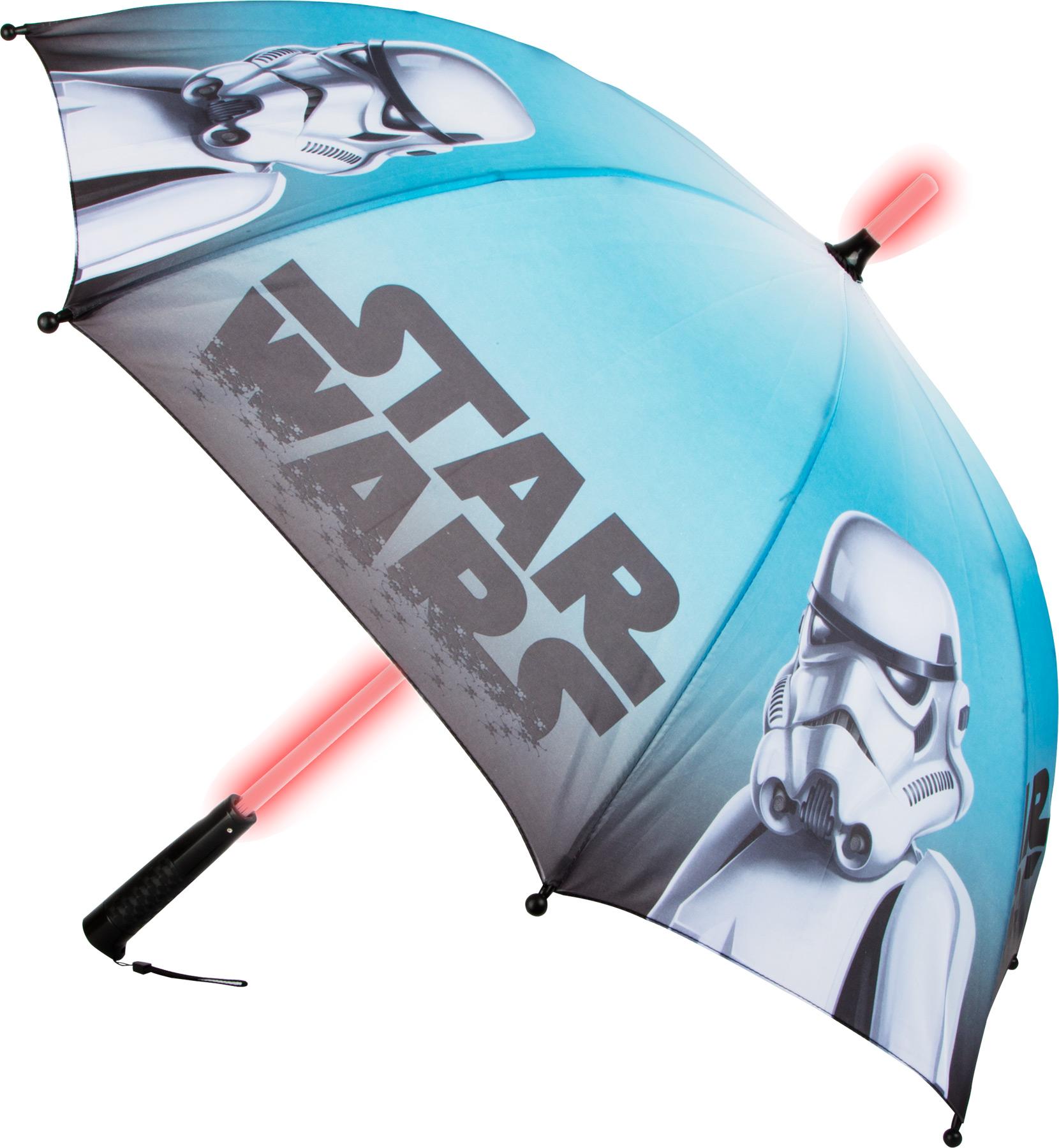 Small Foot Star Wars svítící deštník