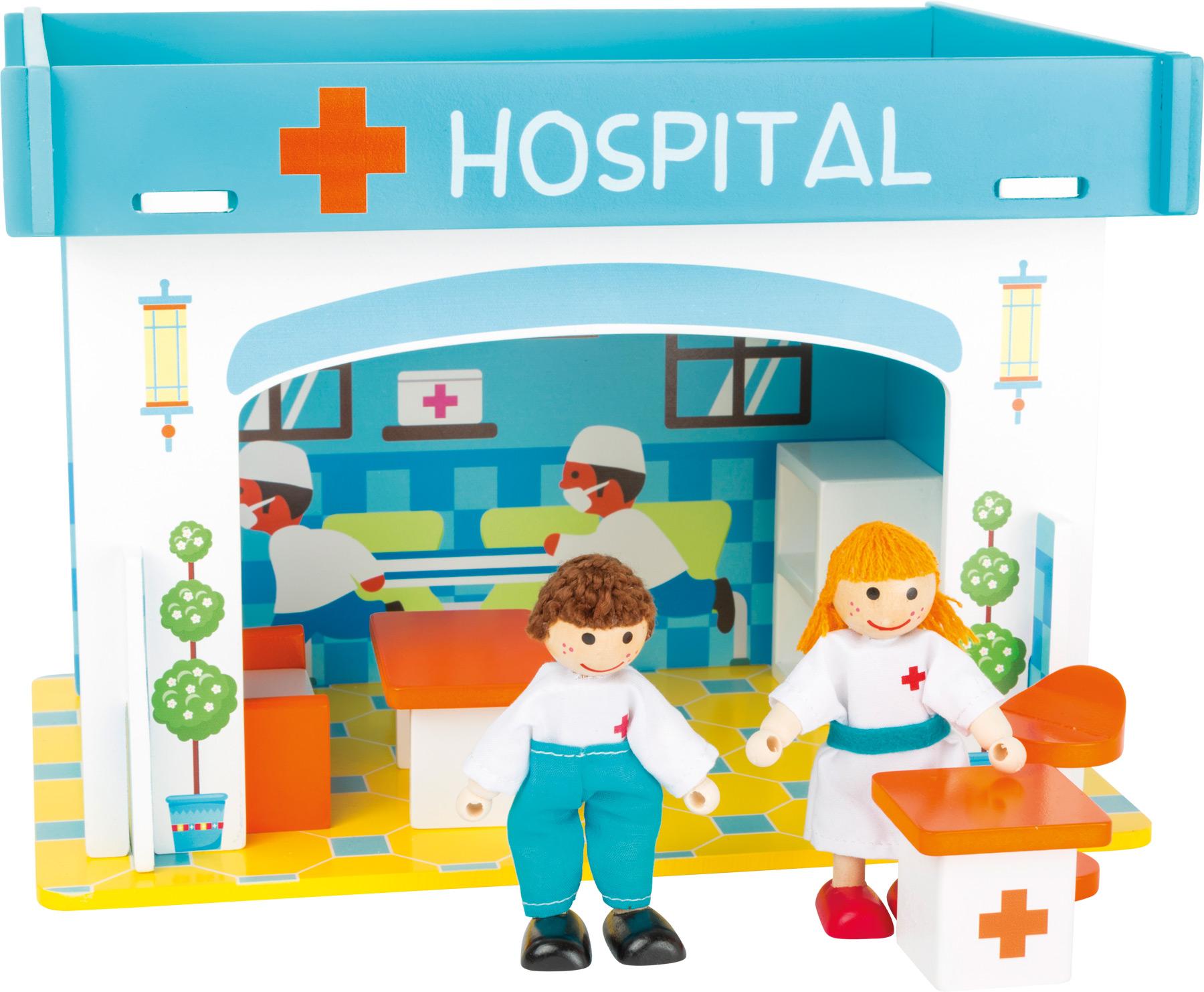 Small Foot Nemocnice s příslušenstvím