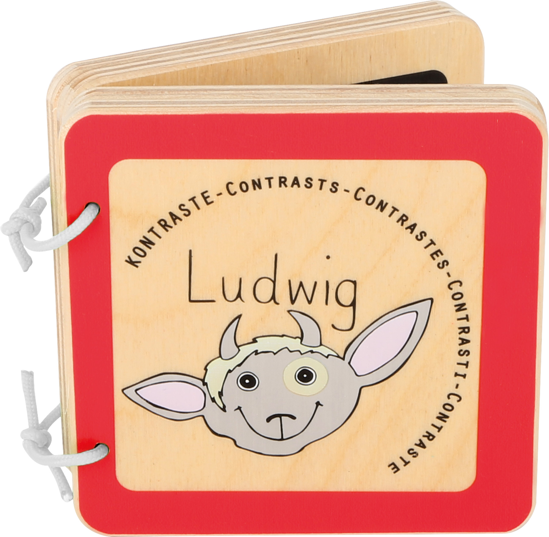 Small Foot Dřevěná knížka Ludwig