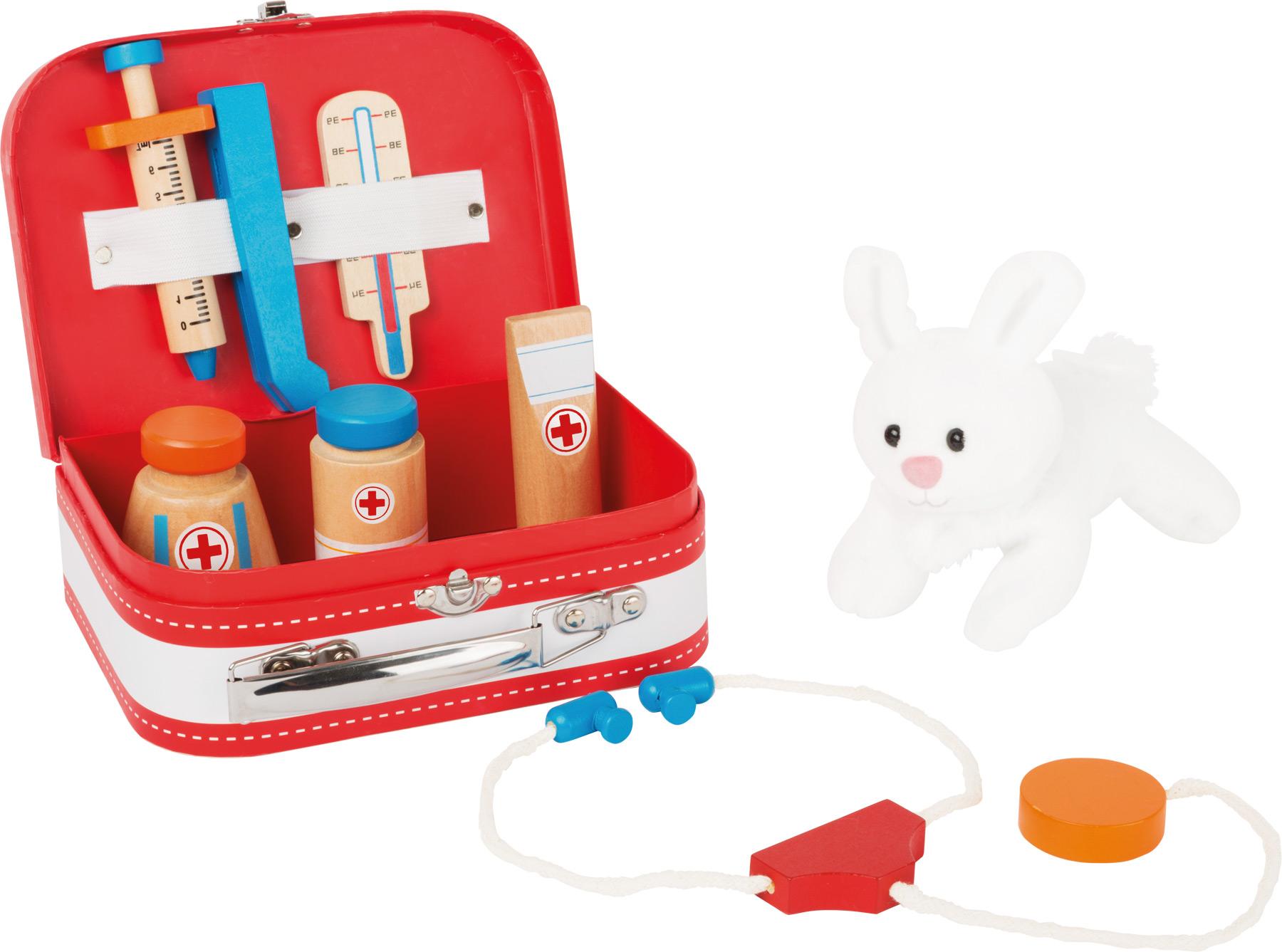 Small Foot Doktorský kufřík s králíčkem