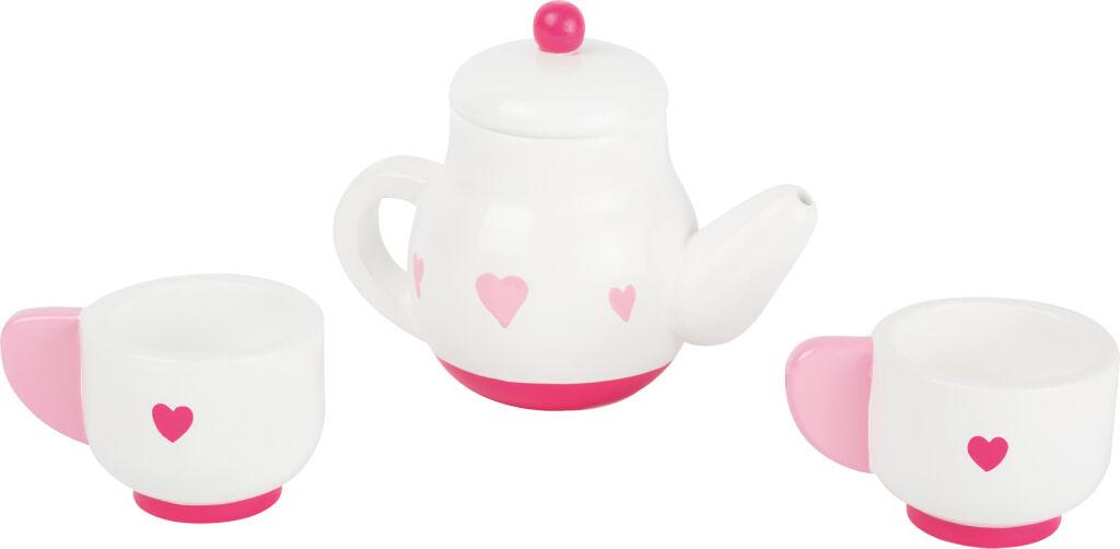 Small Foot Dřevěný čajový set srdce