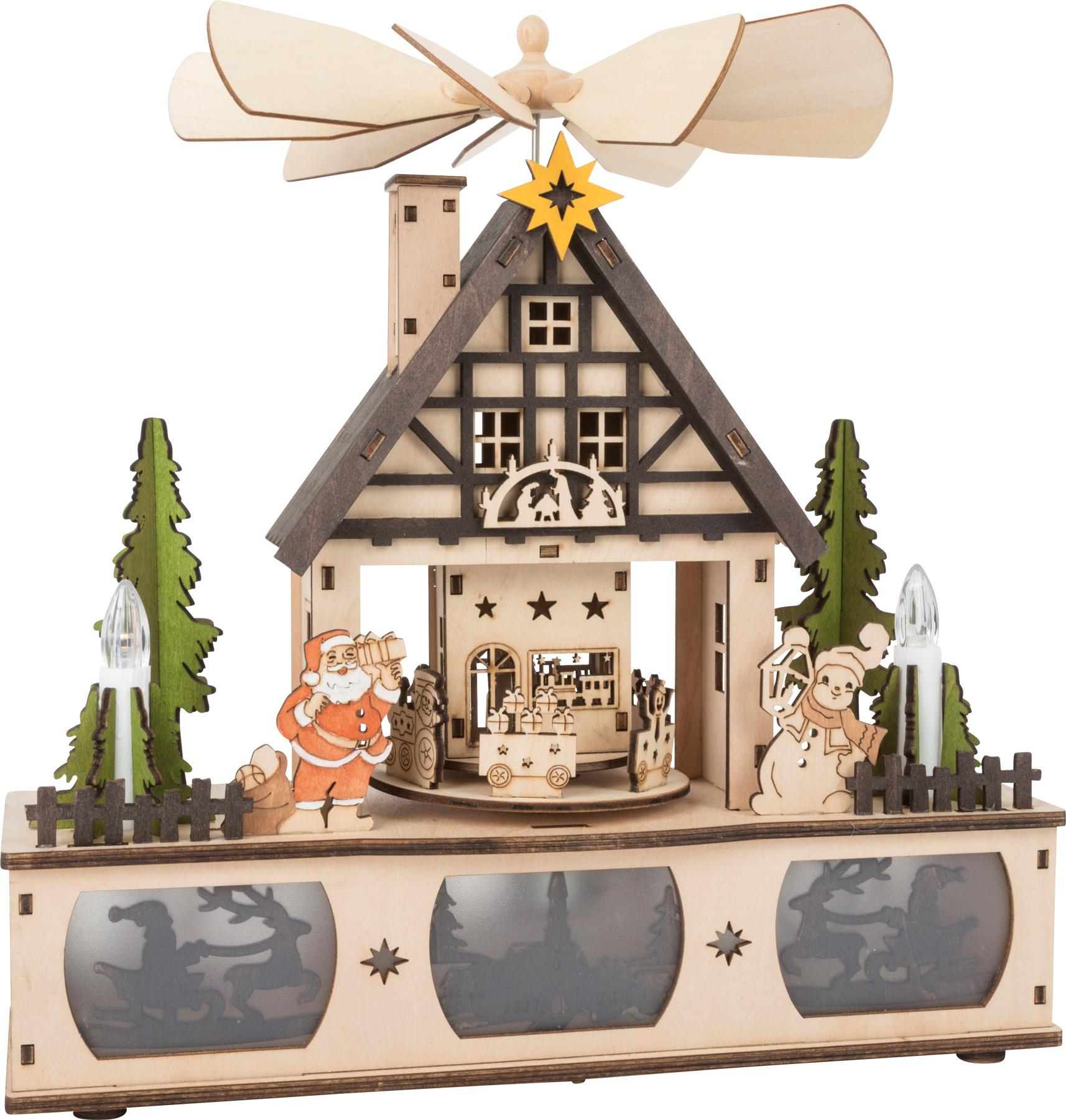 Small Foot Svíticí vánoční pyramida
