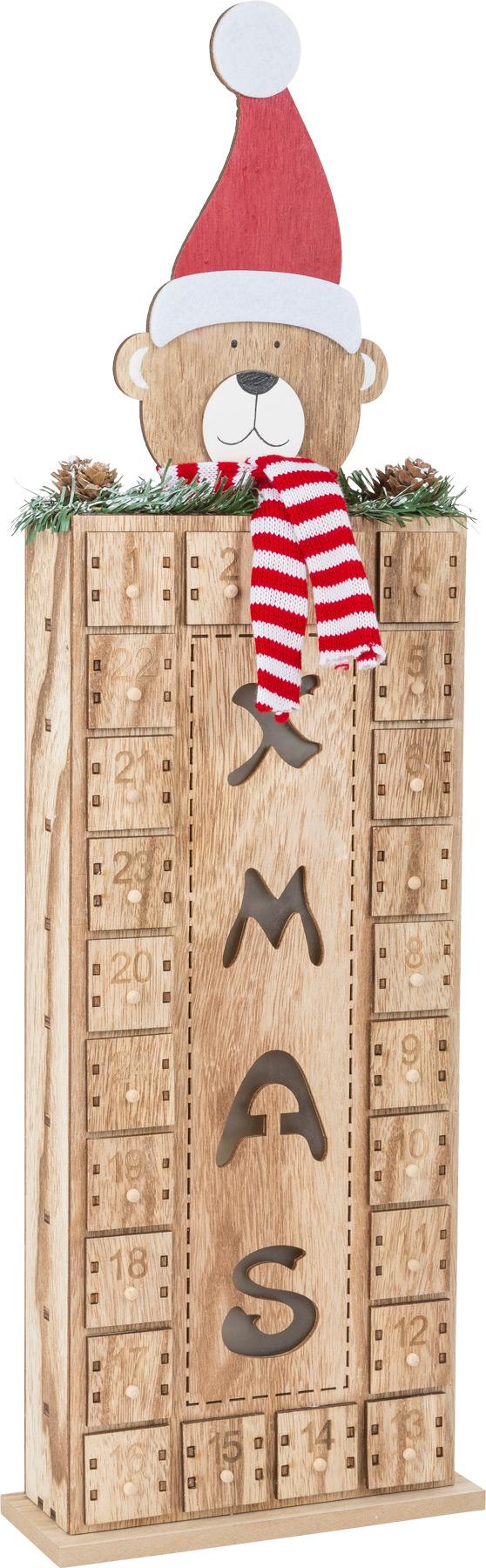 Small Foot Adventní kalendář s medvídkem