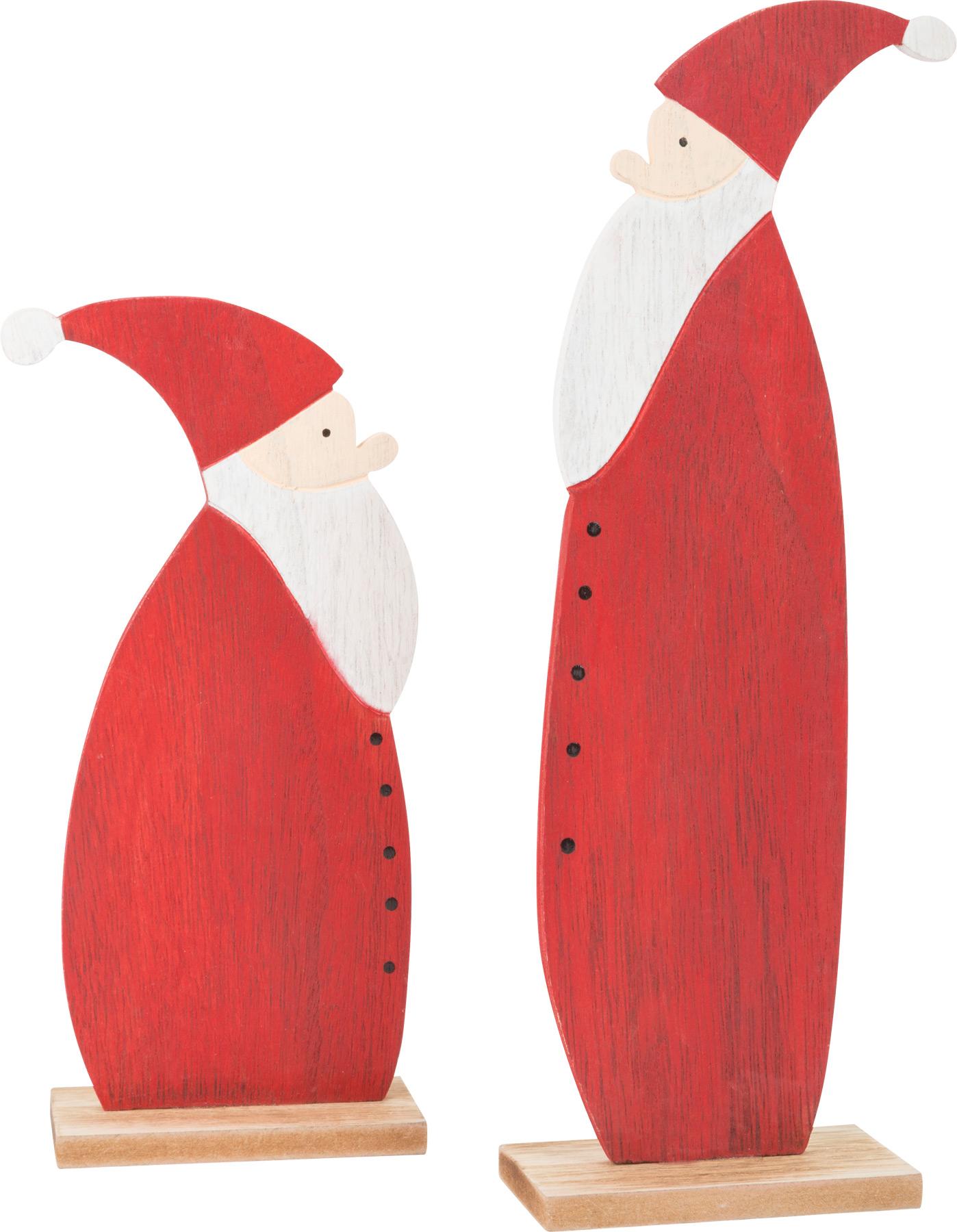 Small Foot Dekorační Santa 2 ks