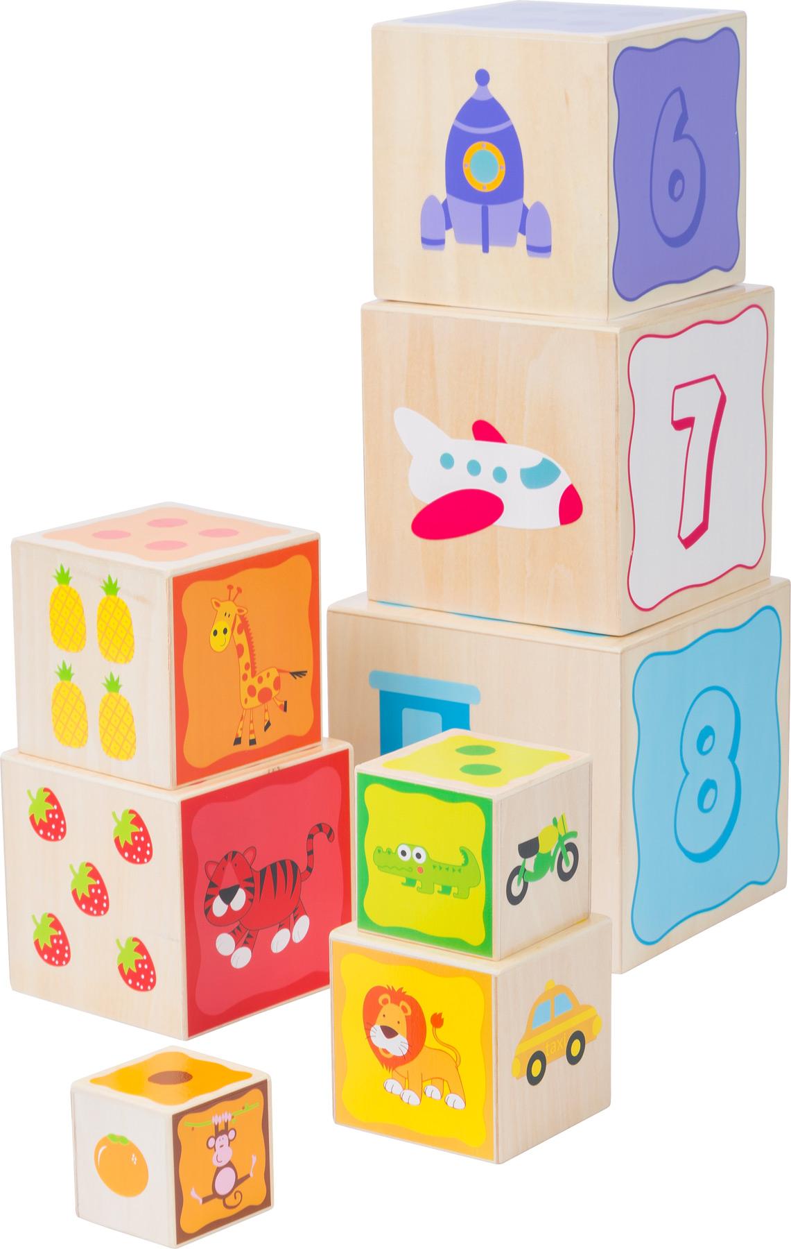 Small Foot Dřevěná věž s čísly