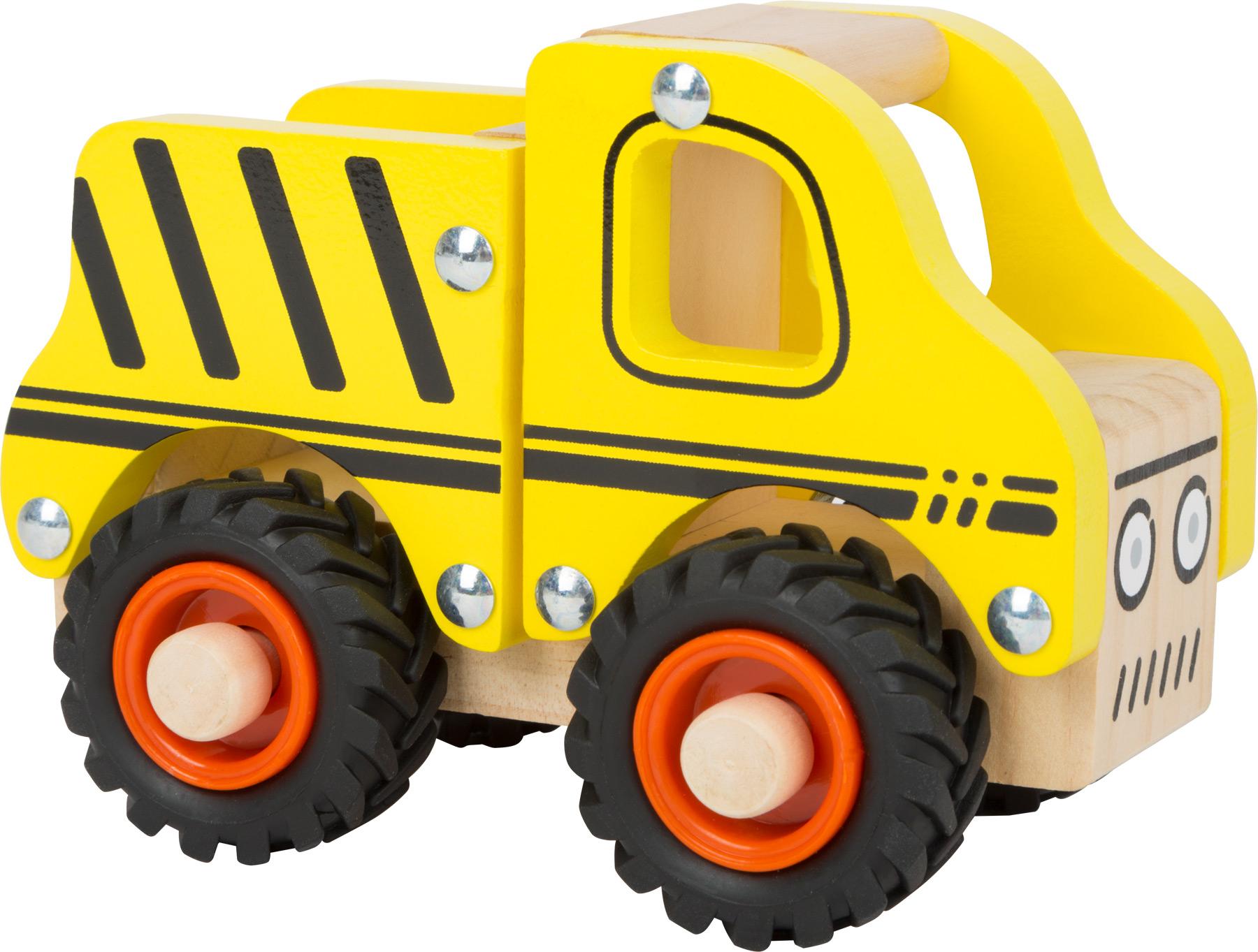 Small Foot Dřevěný náklaďák žlutý