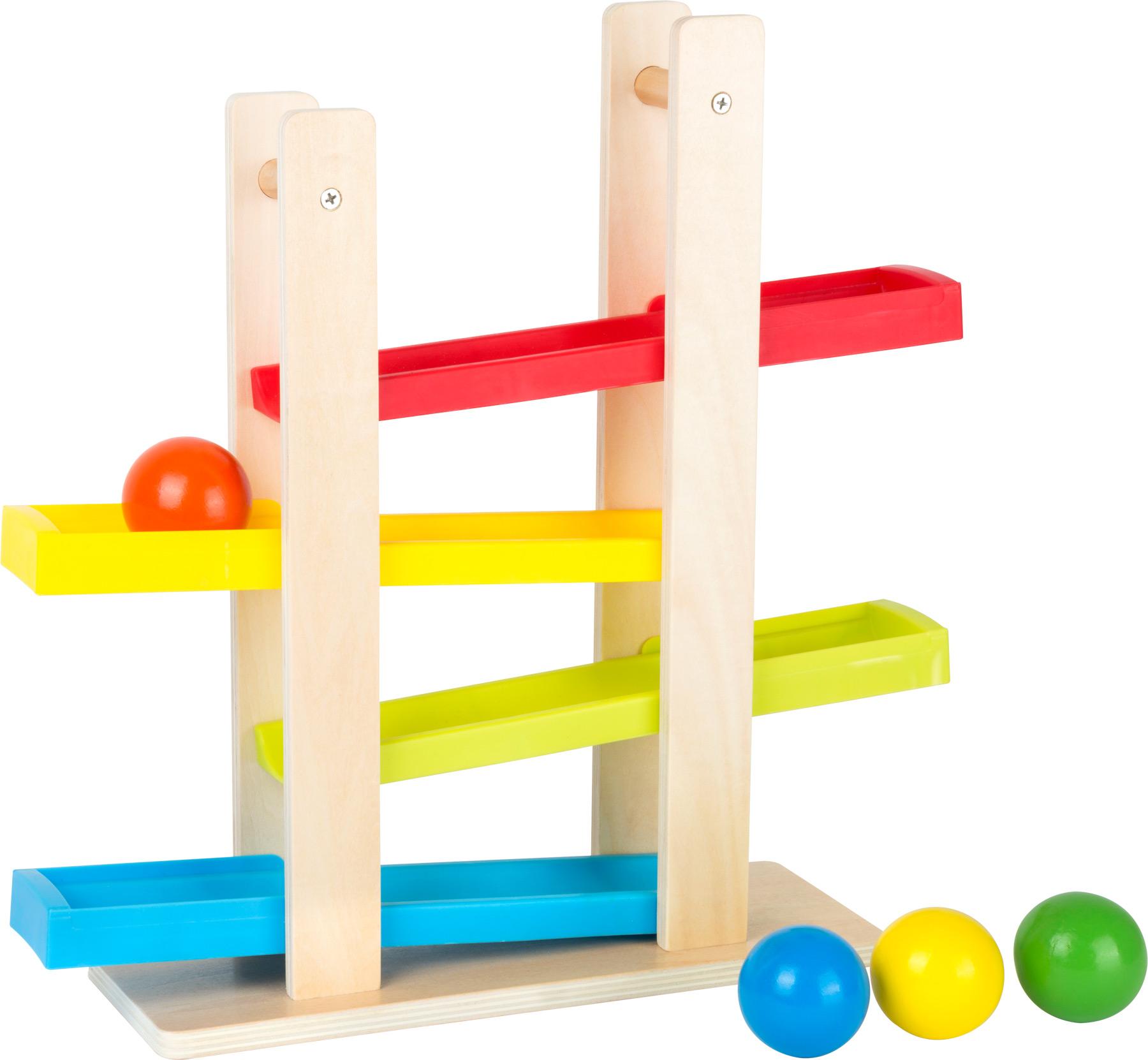 Small Foot Dřevěná kuličková dráha Compact