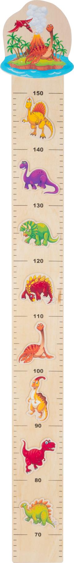 Small Foot Dřevěný metr dinosauruři