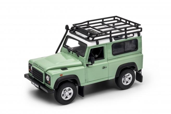 Welly - Land Rover Defender 1:24 zelený
