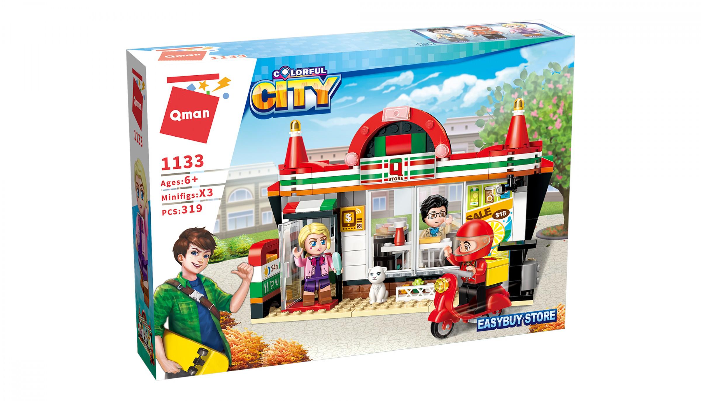 Qman Colorful City 1133 Koloniál