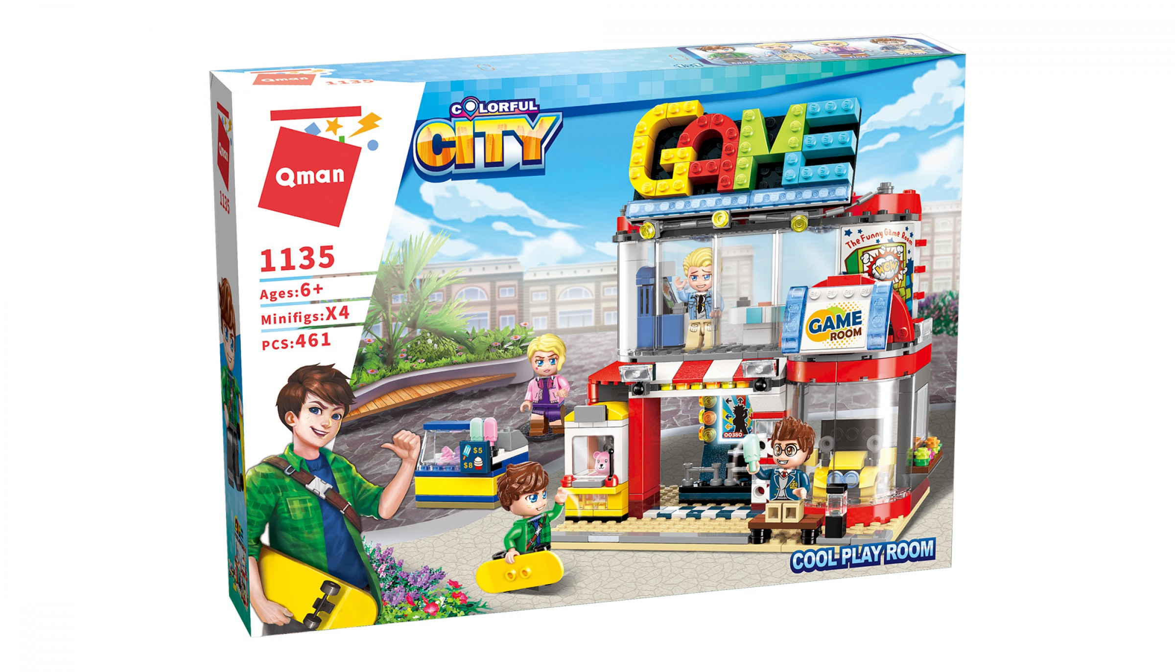 Qman Colorful City 1135 Videoherna