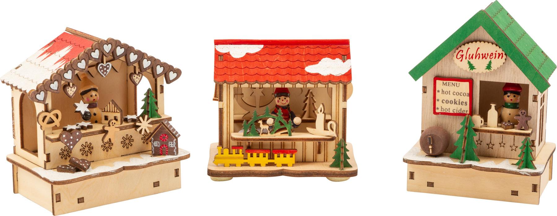 Small Foot Sada lamp vánoční trhy
